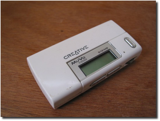 Image of Creative Labs Muvo Mp3 Player
