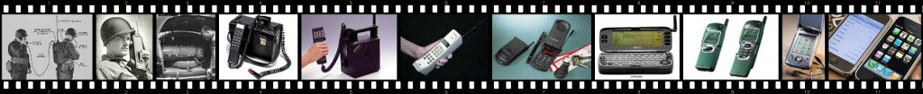 Image of history of the mobile phone