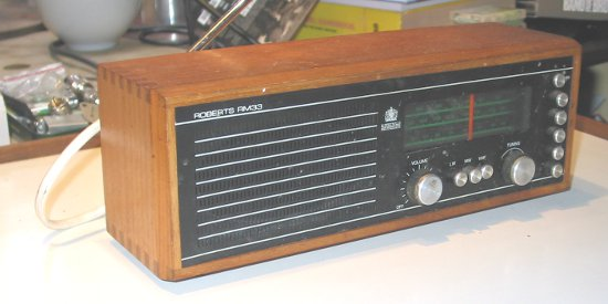 Image of Rboberts Rm33 Radio