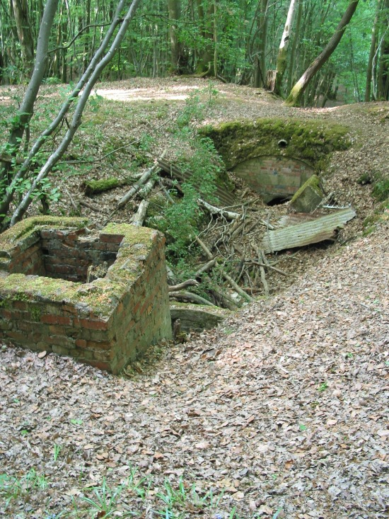 Image of remains of Ditchling Auxiliary Hideout