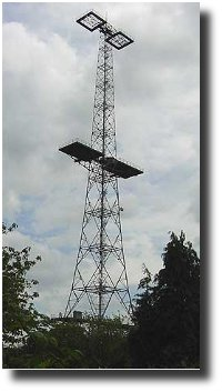 Image of a single Chain Home Radar Tower