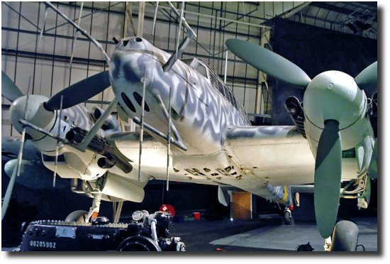 Image of A Bf-110G-2 German Night fighter