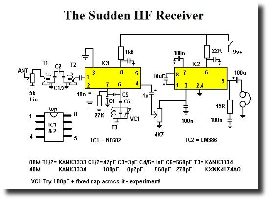 Circuit of the Rev G Dobbs Sudden Receiver