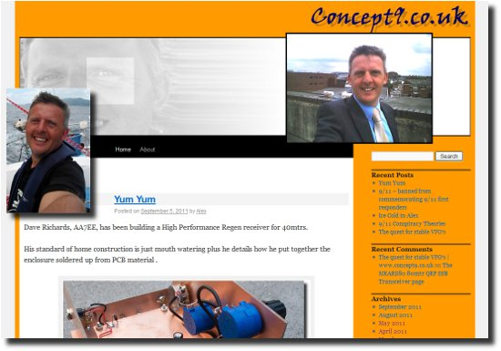 The Concept9 web page