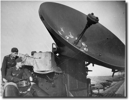 German Crew operating Wurzburg Radar