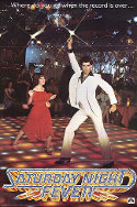 Image of a Poster for Saturday night fever movie