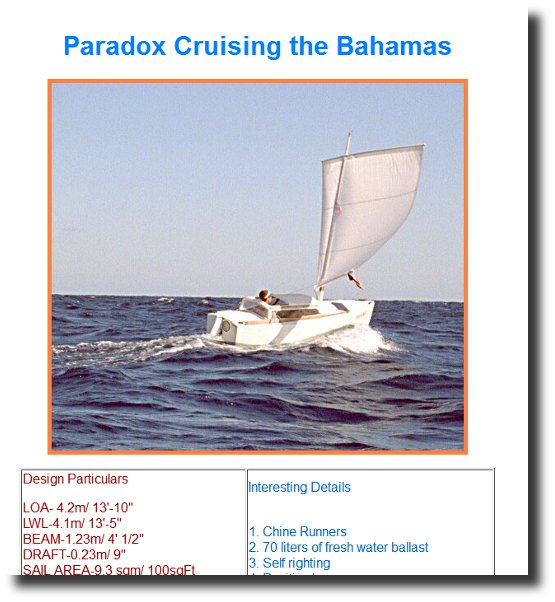 Image of the Paradox Micro Cruiser