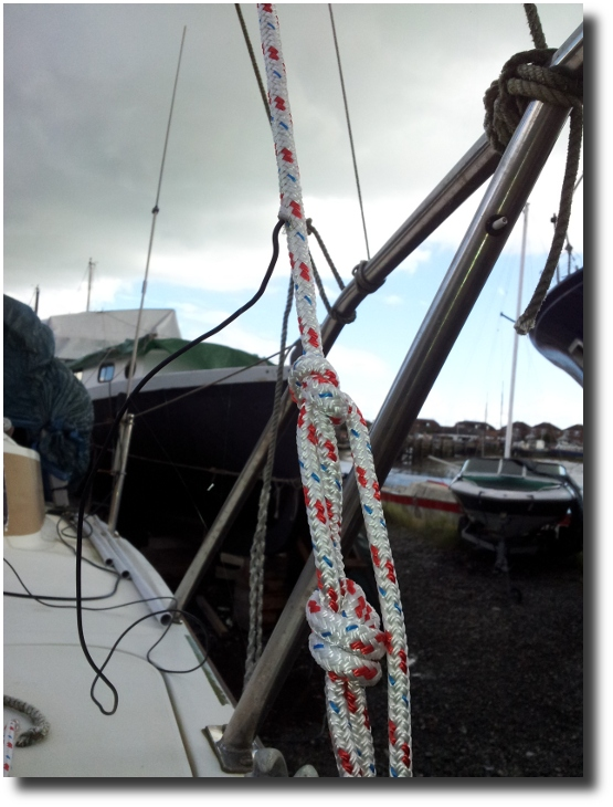 Image of Wire into Rope at Bow