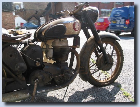 image of Our old BSA C11G