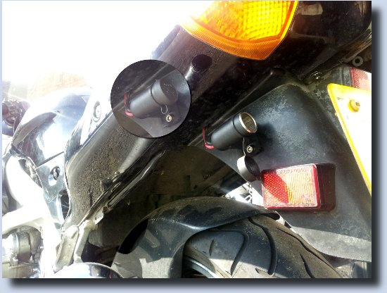 Image of Cigarette lighter socket on ZZR