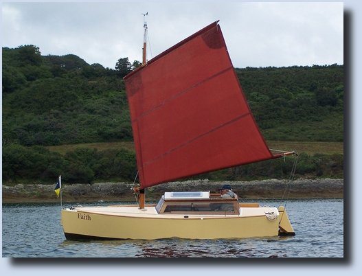 Image of a Paradox sailing vessel called Faith