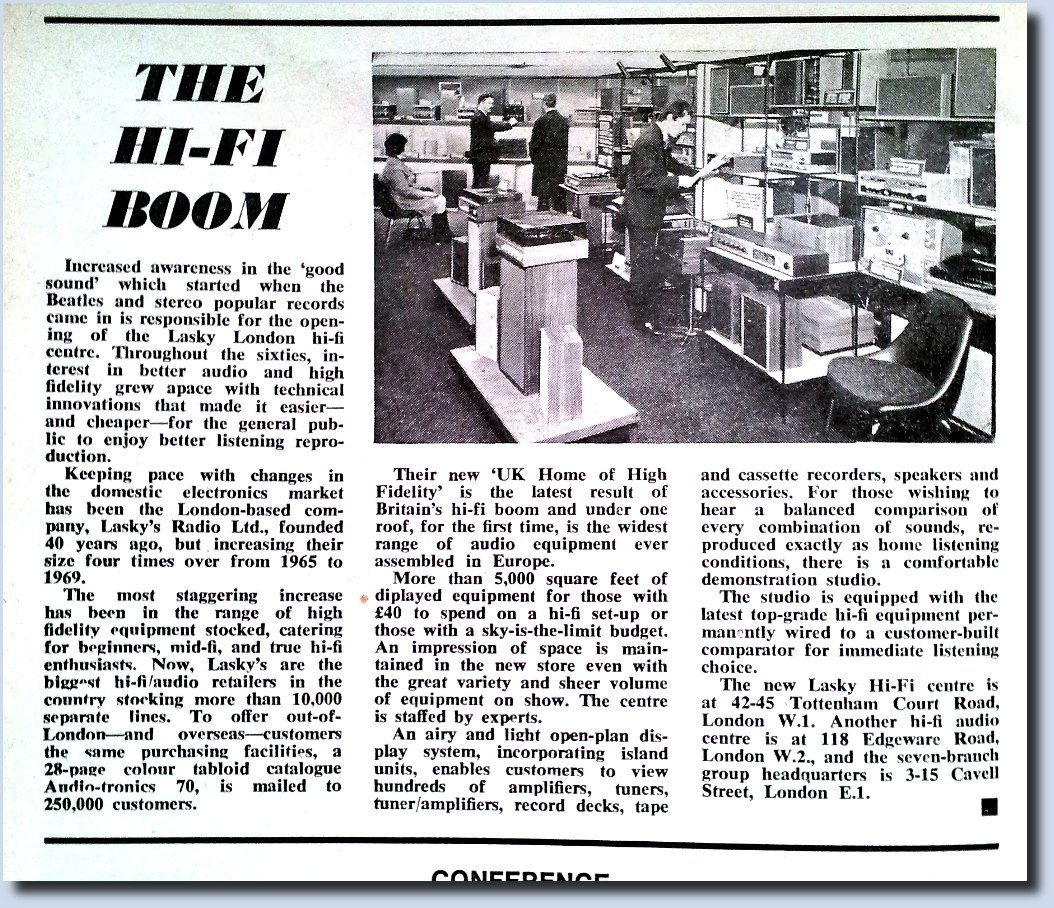 Lasky's Showroom for Hi-Fi