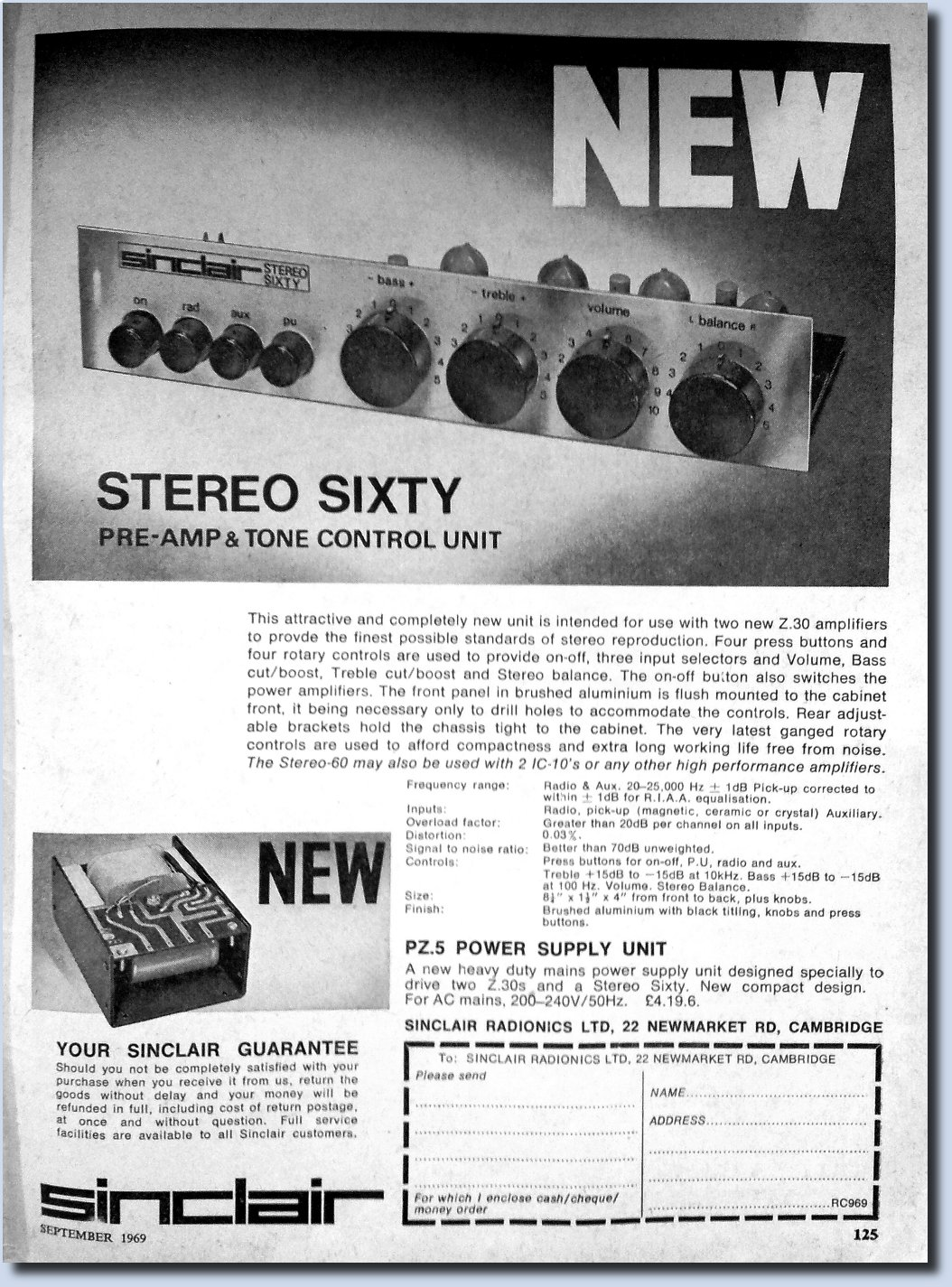 Image of Sinclair Stereo Sixty