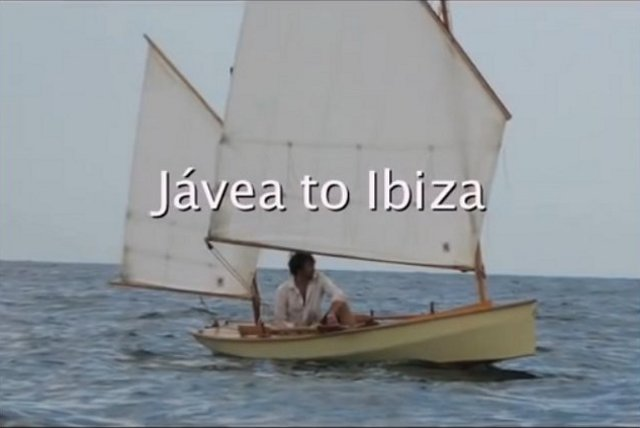 video blog by Gavin Atkins voyage in his home built open boat Onawind Blue from Spain to Ibiza