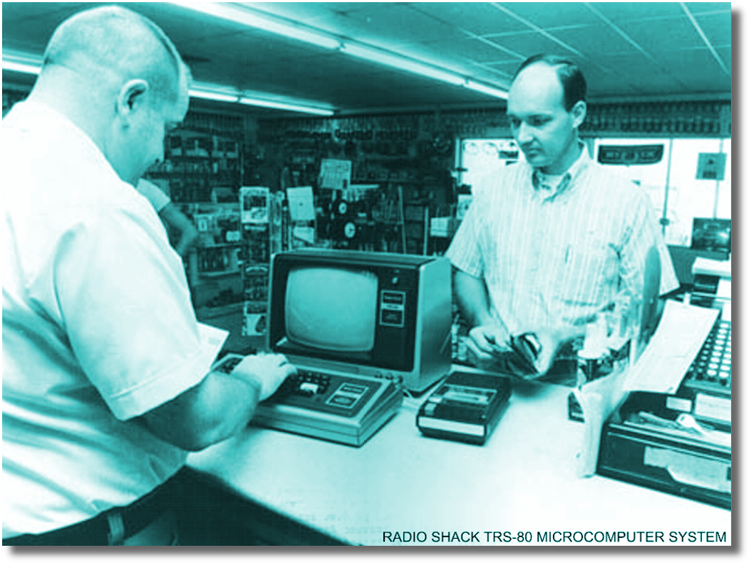Image of RadioShack Tandy Sales Counter